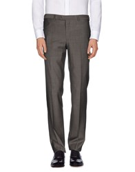 Luigi Bianchi Mantova Trousers Casual Trousers Men Grey