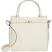 Valextra Women's Large B Cube Tote White