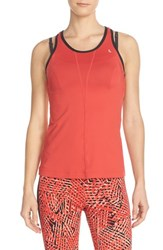Women's Lole 'Viola' Cutout Back Tank Ruby