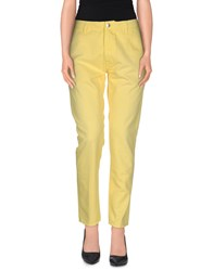 People Jeans Yellow