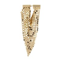 Paco Rabanne Chain Mono Earring Light Gold
