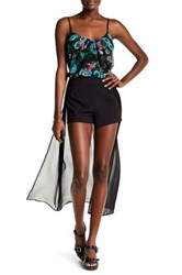 Kensie Cape Short Black