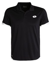 Lotto Aydex Ii Polo Shirt Black Pearl