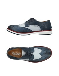 Red Carpet Lace Up Shoes Slate Blue