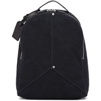 Dsquared2 Black Canvas Backpack