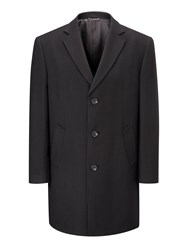 Skopes Men's Euston Overcoat Black