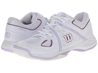 Wilson Nvision White Violet Women's Tennis Shoes