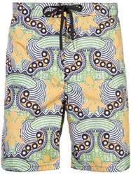 Cynthia Rowley Greenroom Board Shorts