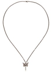 Simon Carter Gunmetal Sterling Silver Necklace