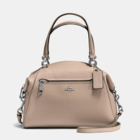 Coach Prairie Satchel In Polished Pebble Leather Sv Stone