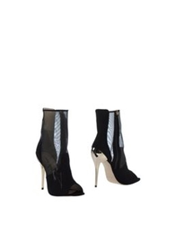 Frankie Morello Ankle Boots Black