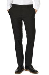 Topman Skinny Fit Pants Black