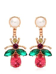 Mawi Love Bug Crystal Earrings