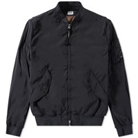 C.P. Company Arm Lens Bomber Jacket Black