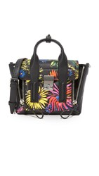 3.1 Phillip Lim Pashli Mini Satchel Black Multi