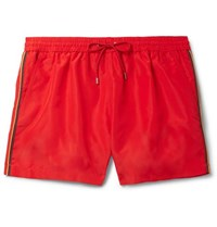 Paul Smith Mid Length Swim Shorts Red