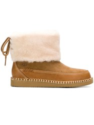 Ugg Australia Shearling Ankle Boots Brown