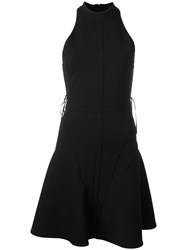 Philipp Plein Racer Back Dress Black