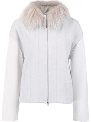 Fabiana Filippi 'Ice' Jacket Grey