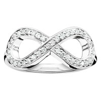 Thomas Sabo Glam And Soul Infinity Ring Silver