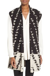 Nic Zoe Women's Acadia Tufted Colorblock Knit Vest
