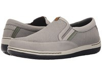Dunham Fitsync Grey Men's Slip On Shoes Gray