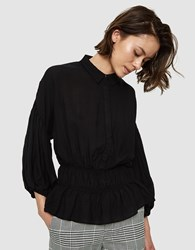 Farrow Dana Blouse In Black