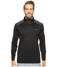 The North Face Kilowatt 1 4 Zip Tnf Black Men's Sweatshirt