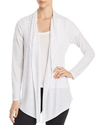 Marc New York Performance Space Dyed Open Front Cardigan White