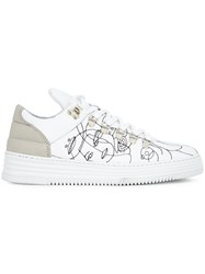 Filling Pieces 'Low Top' Sneakers White