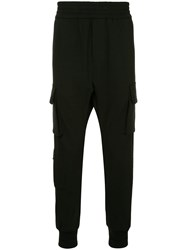 Wooyoungmi Tapered Cargo Trousers Black