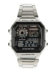 Casio Timepieces Wrist Watches Men Silver