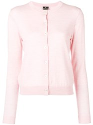 Paul Smith Ps By Simple Cardigan Pink And Purple