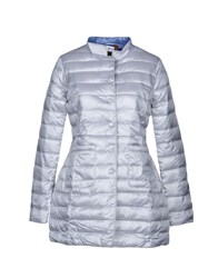 Bini Como Synthetic Down Jackets Light Grey