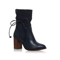 Kurt Geiger Demi High Heel Ankle Boots Navy