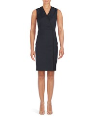 T Tahari Sleeveless Dolce Printed Sheath Dress