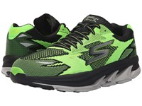 Skechers Go Run Ultra Road Lime Black Men's Running Shoes Green