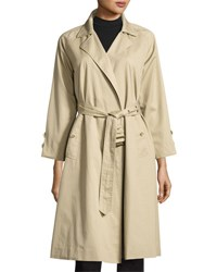 Frame Classic Trench Coat Camel Brown