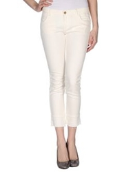 Pence Denim Pants Ivory