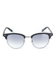 Garrett Leight Tonal Gradient Effect Sunglasses Grey