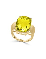 Effy 14K Yellow Gold Lemon Quartz Ring