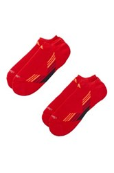 Adidas No Show Climacool X Ii Socks Pack Of 2 Red