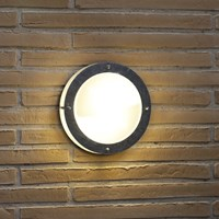 Amara Galvanized Steel Malte Outdoor Wall Light