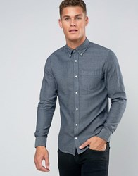 Jack And Jones Premium Smart Shirt With Button Down Blue