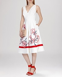 Karen Millen Dress Colorful Floral Embroidered Collection