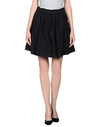 Monocrom Skirts Knee Length Skirts Women Black