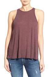 Women's Sun And Shadow Rib Knit Tank
