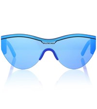 Balenciaga Ski Sunglasses Blue