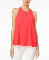 Maison Jules Sleeveless Swing Top Only At Macy's Diva Pink