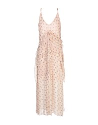 Aquilano Rimondi Long Dresses Light Pink
